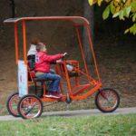 Велосипед - триколка.
